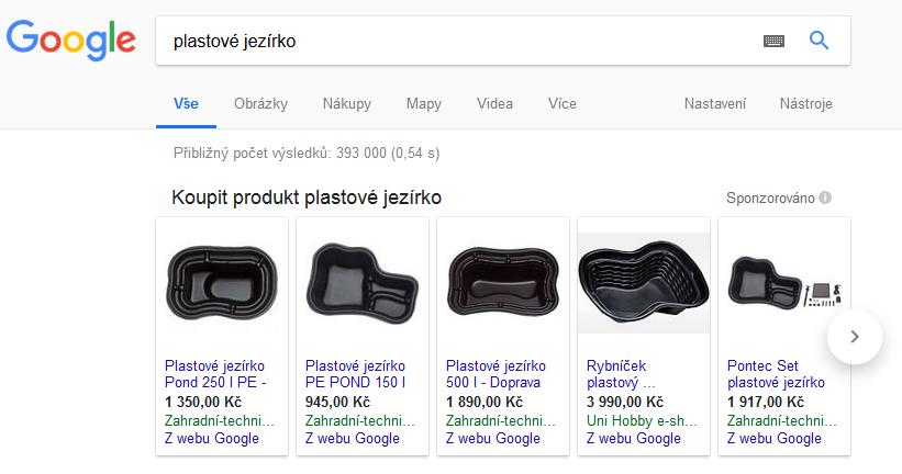 AdWords - PLA - kampaně v Google Nákupech