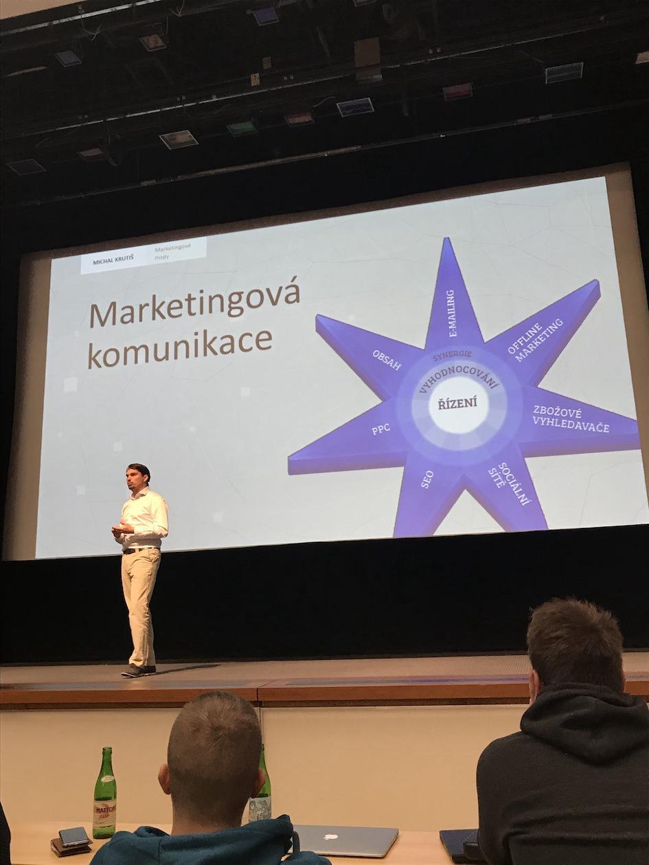 Část marketingu - Marketingová komunikace.