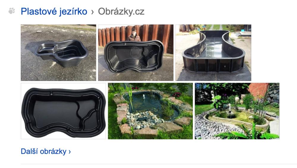 SERP v Seznam.cz - hint z obrázků
