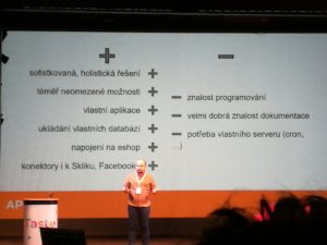 Výhody napojení na API