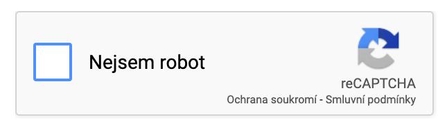 CAPTCHA Google - potvrzení, že nejsem robot