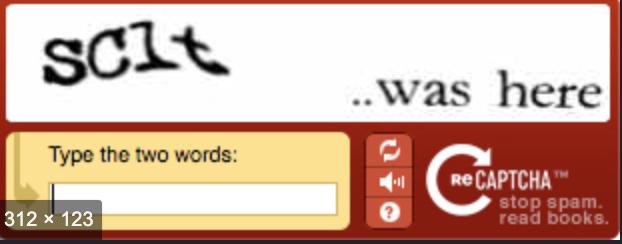 CAPTCHA - opsání textu z obrázku