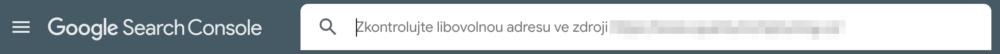 Search Console - Kontrola URL