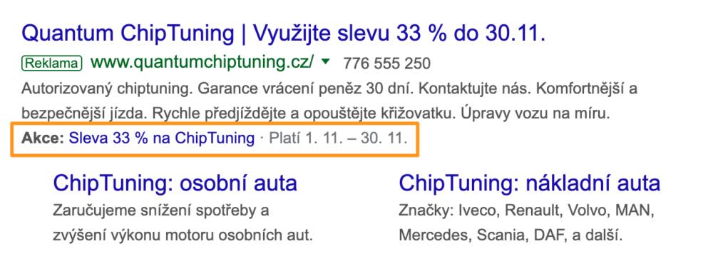 Google Ads - Rozšíření o propagaci